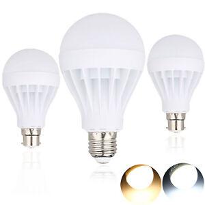 E27-B22-3W-5W-7W-9W-12W-Ampoule-Led-Economie-D-039-Energie-Globe-Lampe-Ac-220V