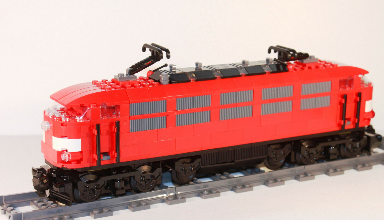 Custom br103 rouge Locomotive de de de LEGO ® Chemin de fer train IC inter city train rapide NEUF 202408