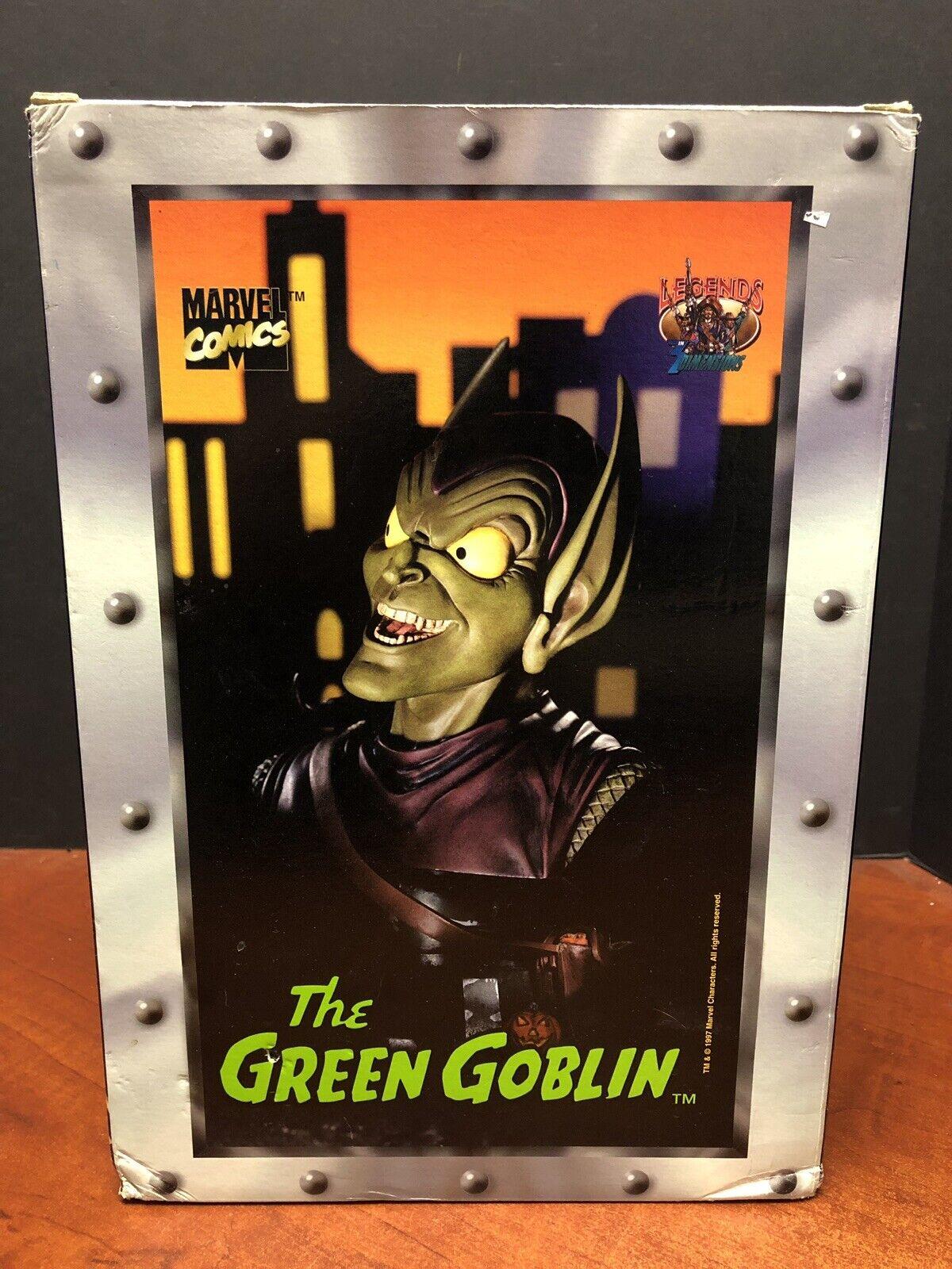 Leyendas en 3 Tallas Marvel El Duende verde Busto Tamp 0349