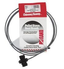 "Rutland Chimney Sweep 17409 Pellet Stove Brush, 3"" D, 10' Flexible Rod"