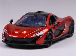 motor max 1:24 mercedes benz mclaren p1 alloy sports car model
