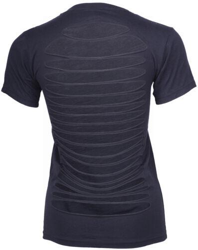 Killer Kirsche GOD Lettering Girlie kurzarm T-Shirt//Oberteil schwarz Rockabill