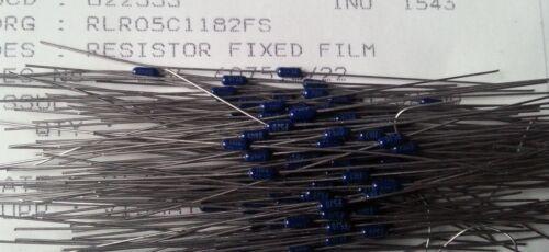 Vishay RLR05C1182FS 11.8K ohm 1/% 1//8W SPEC Militare film metallico Resistenze
