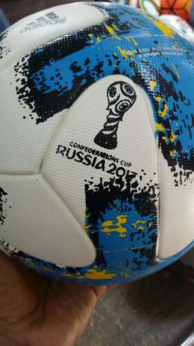 New Adidas Match Ball Krasava FIFA Confederations Cup Russia 2017 Soccer Ball.