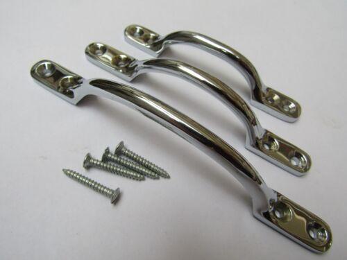 Chrome poli tour de poitrine tiroir placard armoire porte pull poignées boutons