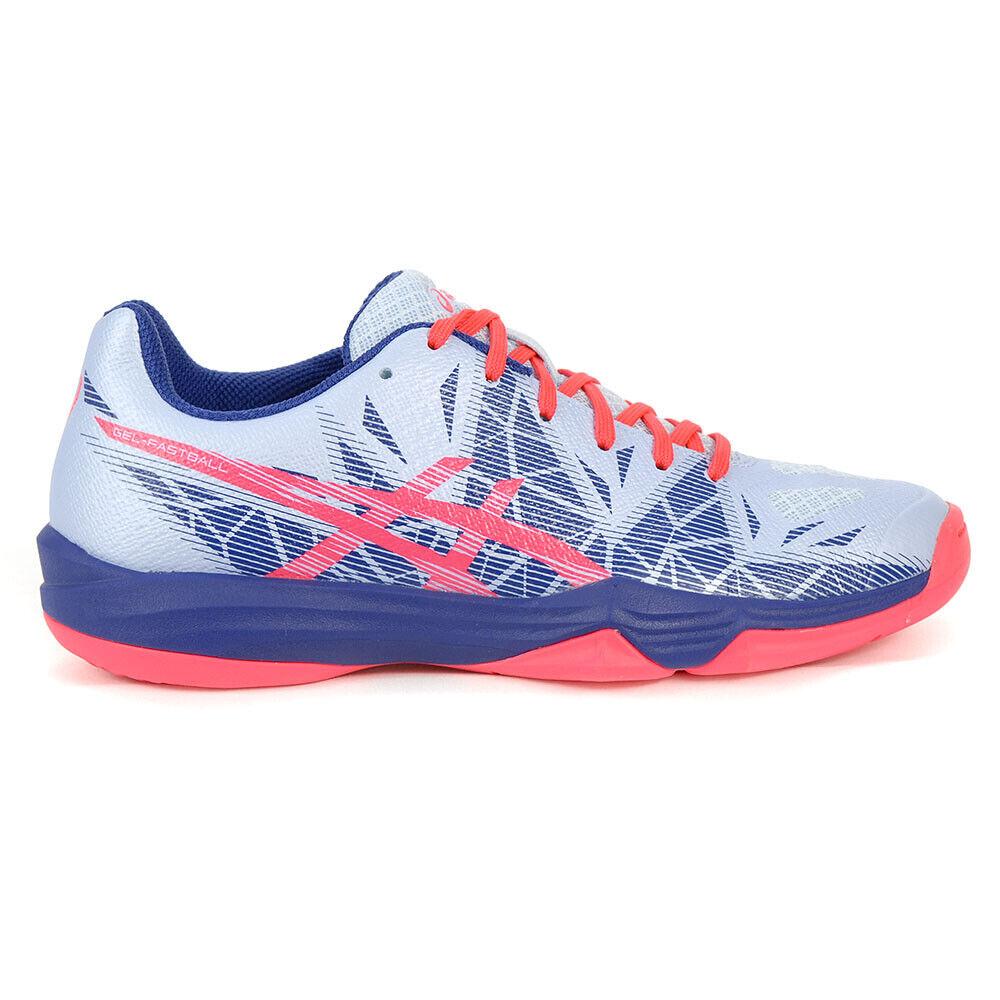 ASICS Women's Gel-Fastball 3 Soft Sky Diva Pink Handball shoes E762N.400 NEW