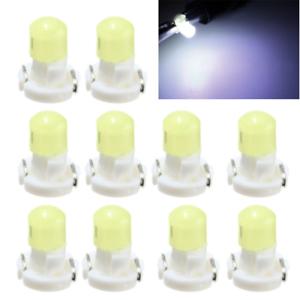 10X-T3-Neo-Cuna-LED-de-luces-de-clima-de-Panel-de-Instrumentos-Cluster-Tablero-Bombillas-Blanco-HS