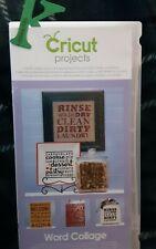Cricut 2001096 Word Collage Cartridge