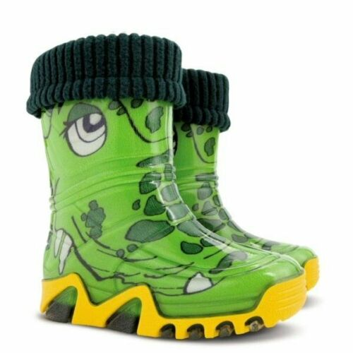 Wellington Rainy Boots Snow All Sizes Girls Wellies Crocodile Kids Boys