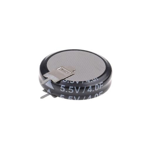 2 Stücke 5,5 V 4,0F Superkondensator H-Typ Taste Smart-KapazitätskomponenteCN