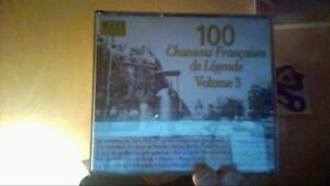 100-Chansons-Francaises-de-Legende-Vol-3-Coffret-4-CD-de-CD-d-039-occasion
