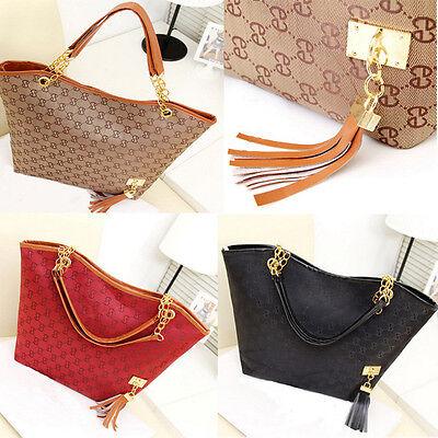 New Lady Women Hobo Shoulder Bag Messenger Purse Satchel Tote Tassel Handbag FE