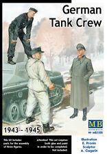 MASTER BOX™ 3508 WWII German Tank Crew 1943-1945 FIGUREN in 1:35