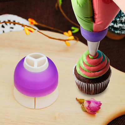 Icing Piping Decorating Bag Nozzle Converter Fondant Cake Cream Kitchen Tool