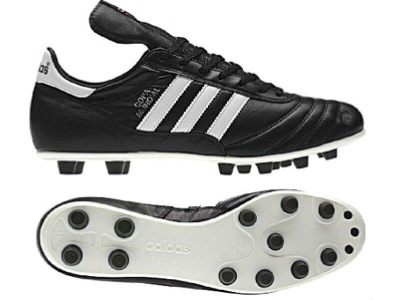 Adidas Copa Mundial Negro botas De Fútbol 015110 tamaños