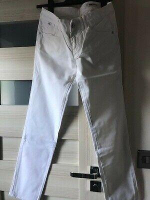** Nuovo Di Zecca ** Jeans Britney Bianco Gas Slim Streach Jeans, Taglia W 29 **- Conveniente Da Cucinare