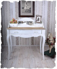 Secretary White Wall Console Shabby Chic Writing Console Vintage Desk Antique
