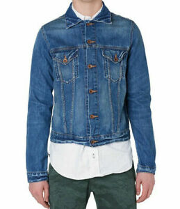VESTE-EDWIN-HOMME-BUDDY-JACKET-blue-mid-used-TAILLE-M-new