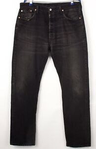 Levi's Strauss & Co Hommes 501 Jeans Jambe Droite Taille W38 L34 BDZ644