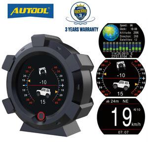 GPS-4x4-inclinometro-proporcionan-Angulo-Velocimetro-mph-kmh-vehiculo-todoterreno