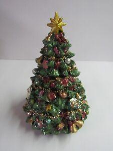 New Raz Wind Up Revolving Musical Christmas Tree 3671351