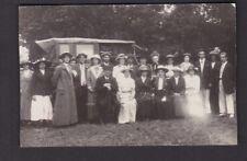 Sussex SOUTHWICK ? social history group photo dress fashion c1900/10s? RP PPC