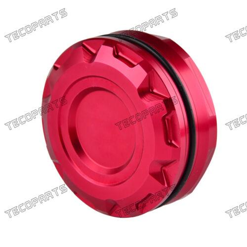 Billet Rear Brake Fluid Oil Cap Cover for Yamaha YZF-R6//R1//R3,XSR900,FZ//MT 07 09