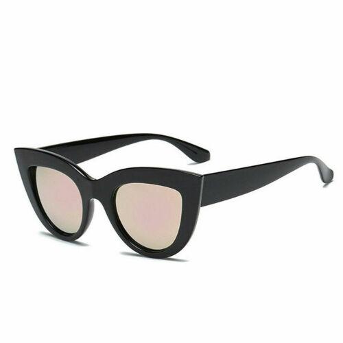 Women/'s Vintage Oversized Sunglasses Cat Eye Designer Sun Glasses Retro Glasses