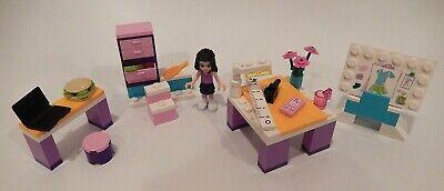 Lego 3936 Emma S Fashion Design Studio Friends 100 Complete Ebay