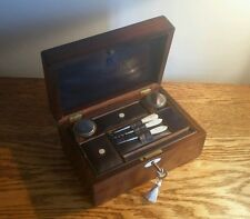 ATTRACTIVE FINE QUALITY  & WELL PROPORTIONED VICTORIAN ROSEWOOD VANITY BOX c1860