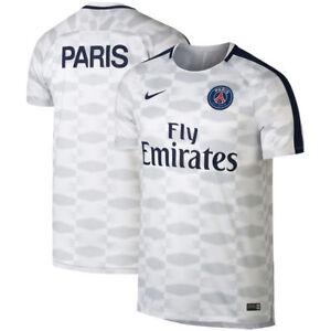 9b1cc7f43f2 Nike PSG Paris Saint German Official 2017 - 2018 Elite Soccer ...