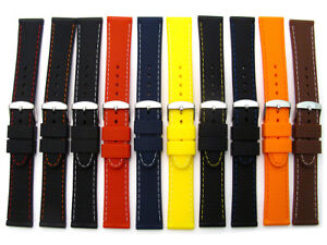 Silicone-Watch-Band-Diamond-Pattern-16mm-18mm-20mm-22mm-Lots-of-Colours-C052