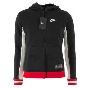 nike hoodie sweatjacke schwarz