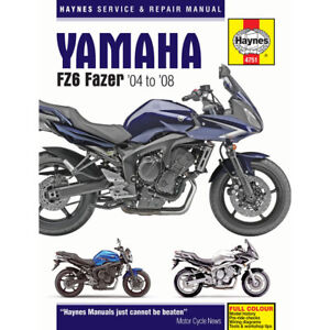 Yamaha-FZ6-inc-Fazer-2004-2008-Haynes-Workshop-Manual
