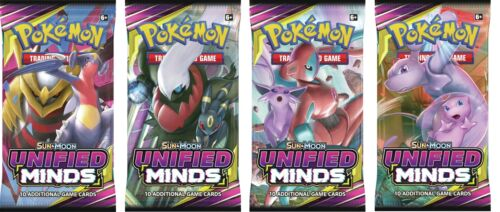 Pokemon Sun and Moon S/&M11 Unified Minds Booster Pack