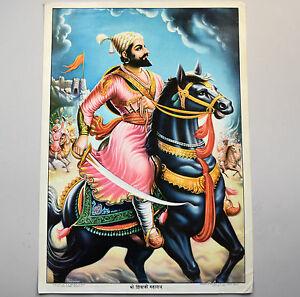 India-Poster-Original-circa-1960-Brijbasi-Mathura-Pednekar
