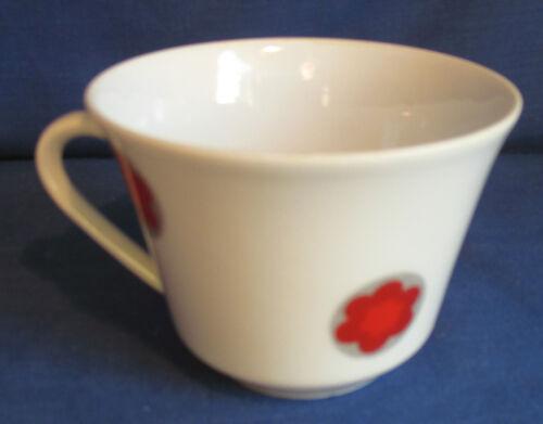 Prilblume weitere Tasse Anja rote Blume Seltmann Weiden Kaffeetasse