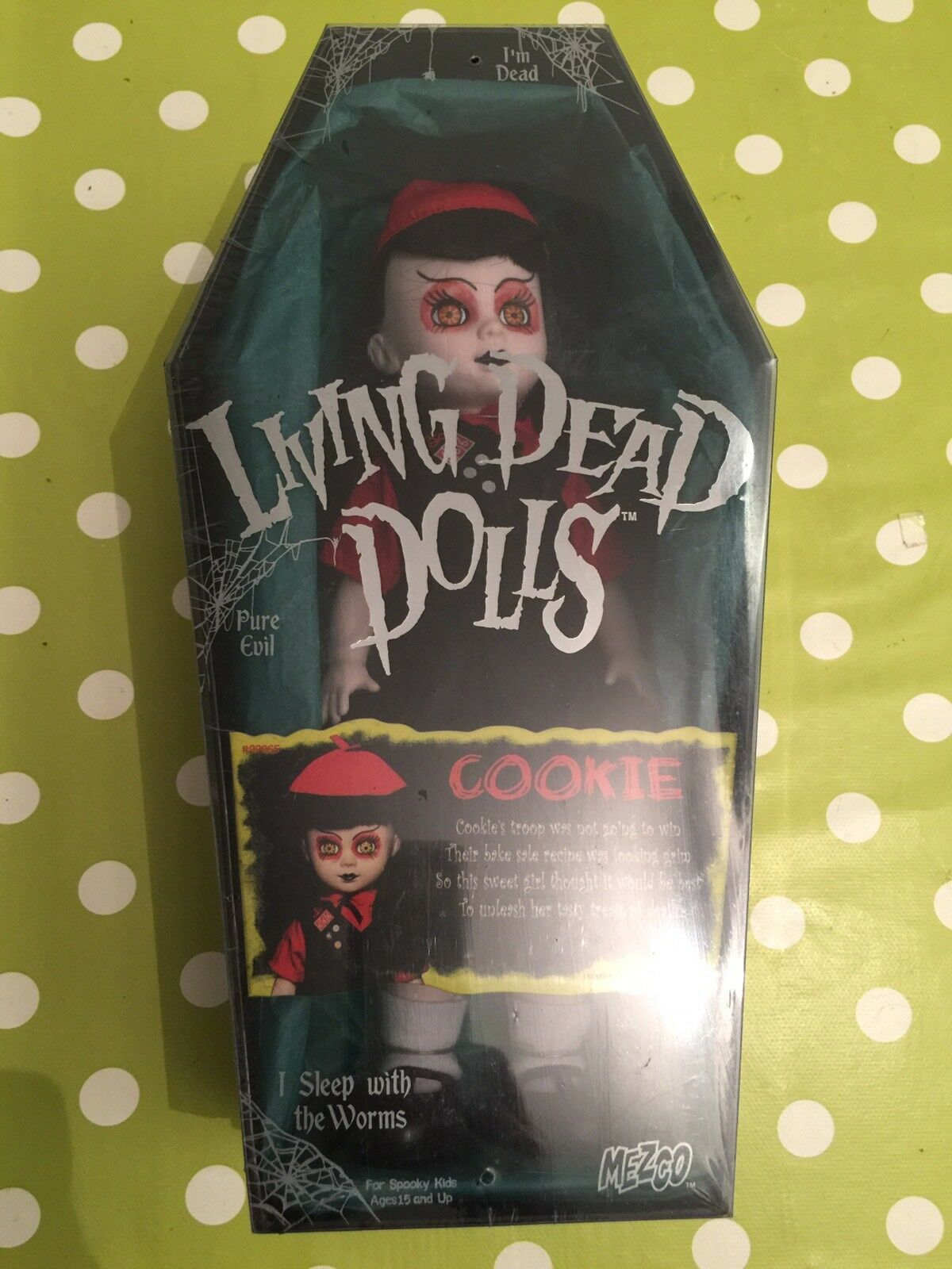 LIVING DEAD DOLLS COOKIE EXCLUSIVE MINT NEW