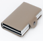 Double-Aluminum-Box-Pop-up-Credit-Card-Holder-Cash-Clip-Wallet-RFID-Blocking thumbnail 9