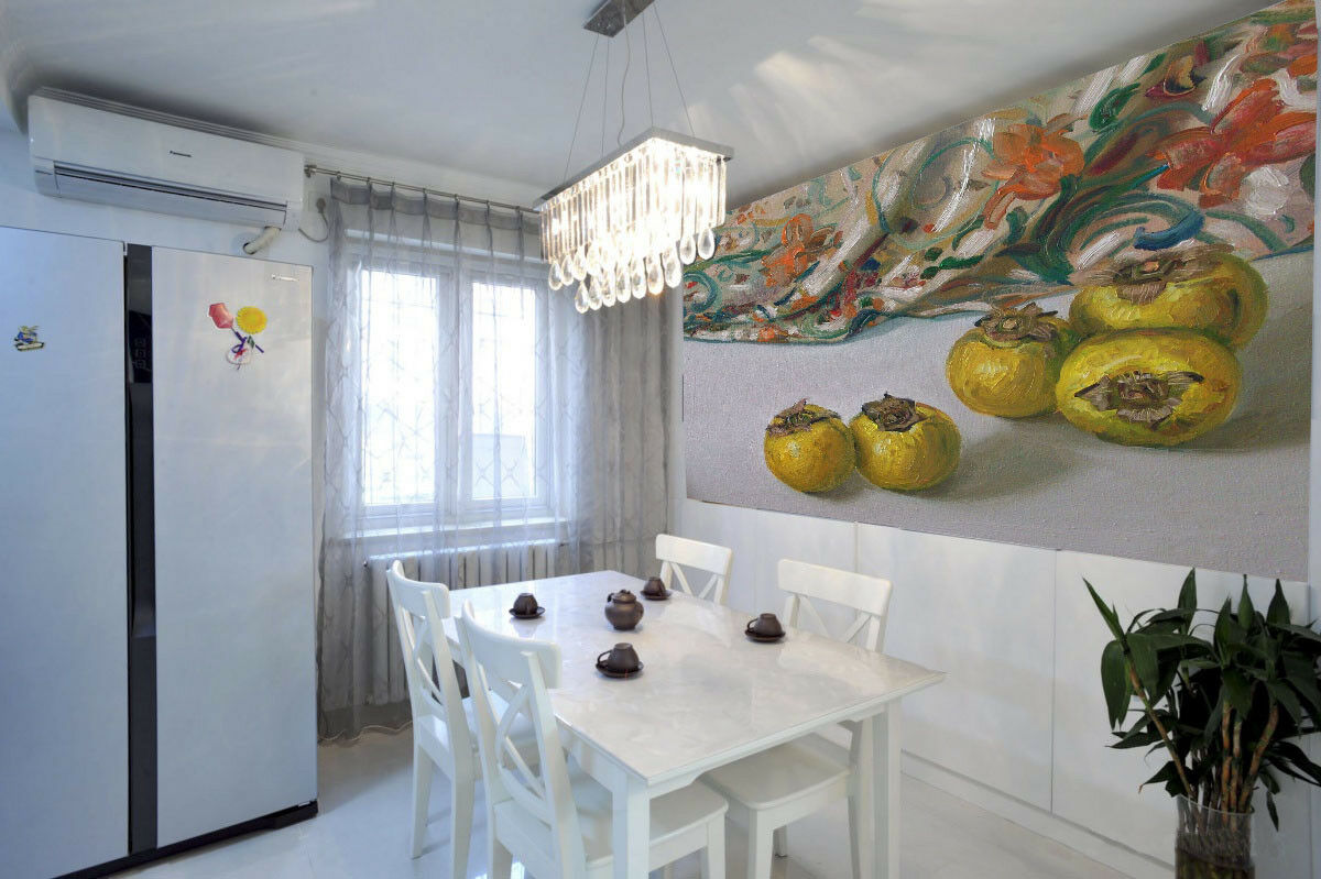 3D Persimmons Cloth 73 Wall Paper Murals Wall Print Wall Wallpaper Mural AU Kyra