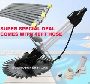 Stingray Wall Climbing Automatic Swimming Pool Cleaner