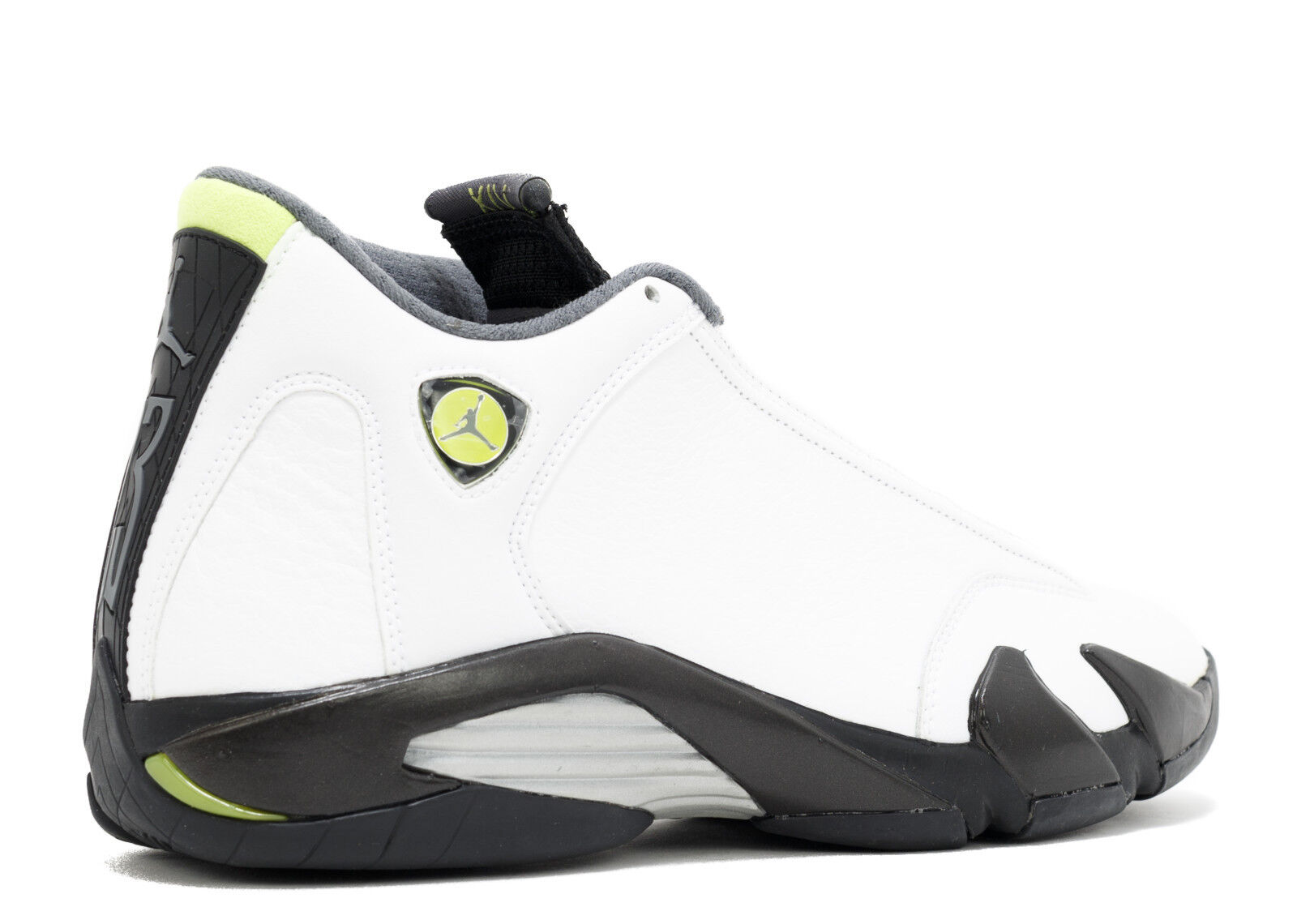 finest selection e4343 c6dce ... sale ds 2018 nike air jordan xiv 14 311832 132 retro blanco 15  chartreuse negro tamaño