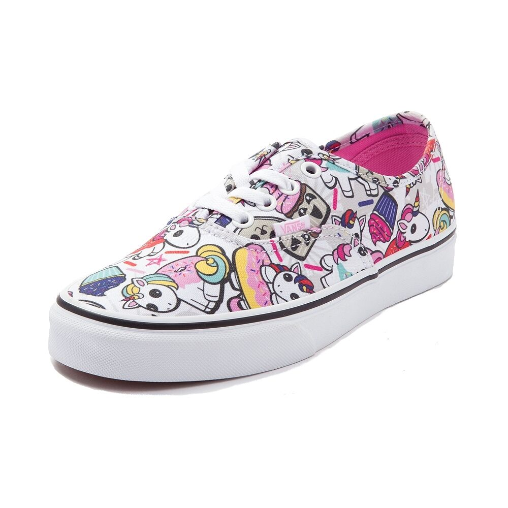 NEW Vans Authentic Weiß Donut Unicorns Skate schuhe Weiß Authentic Multi Color ALL Sizes 3260cb