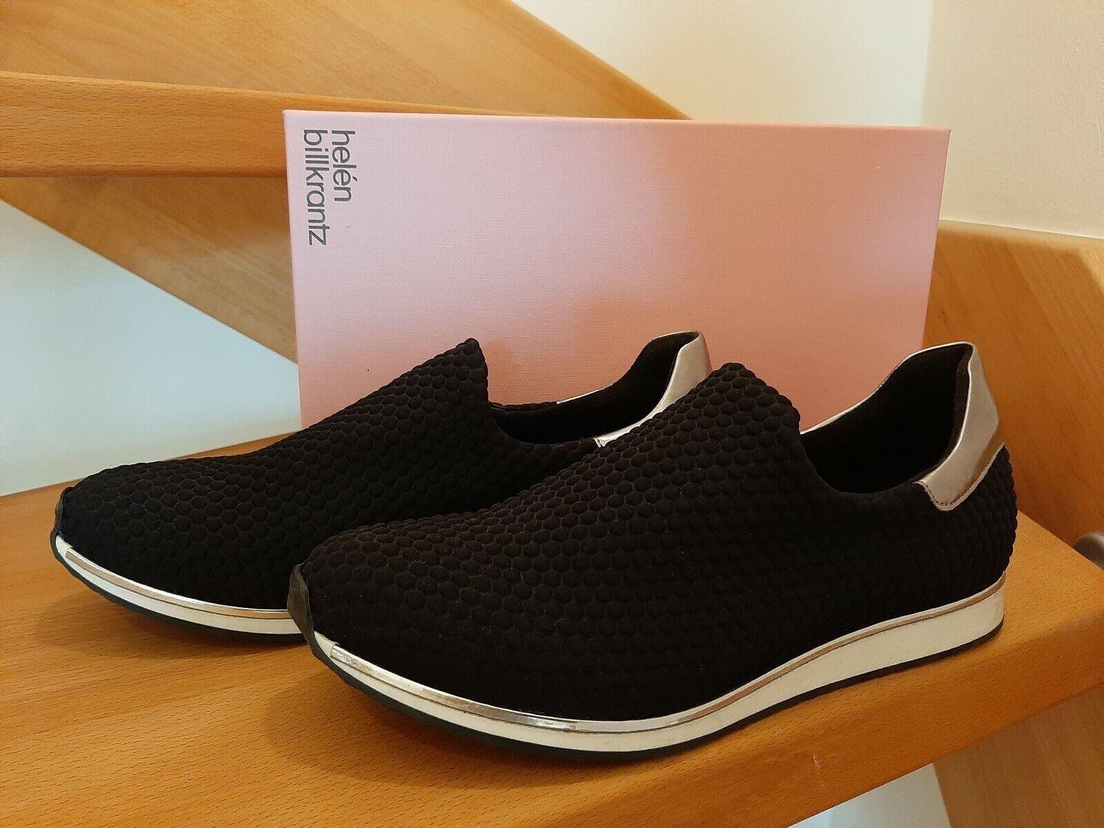 HELEN BILLKRANTZ schwarze Turnschuhe Schuhe Größe 39 neu, ungetragen in OVP