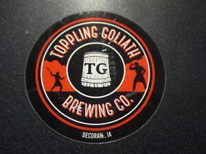 """LOWENBRAU Oktoberfest ribbon 3.5/"""" LOGO STICKER decal craft beer brewing brewery"""