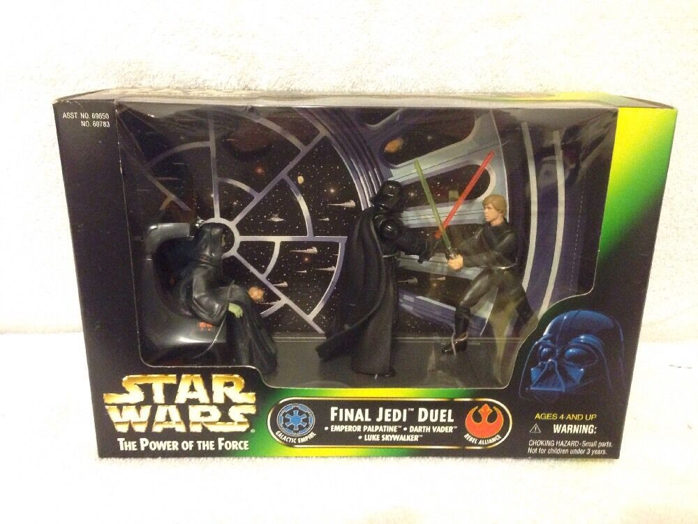 Star Wars The Power Of The Force Final Jedi Duel Emperor & Vader & Skywalker