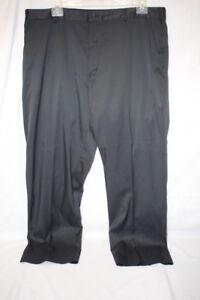 NIKE-GOLF-DRI-FIT-Flat-Front-Black-Casual-Golf-Pants-Mens-Size-40-x-32-B107