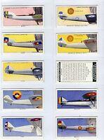 Full Set, Lambert & Butler, Aeroplane Markings, 1937 VG-EX (Ls405-332)