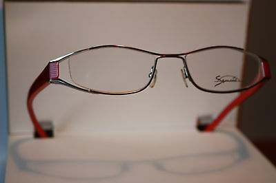 Occhiali Da Donna Metallo Con Rossi Kunsstoffbügeln S015 0532 Lunettes Eyeglasses-n S015 0532 Lunettes Eyeglasses It-it Mostra Il Titolo Originale