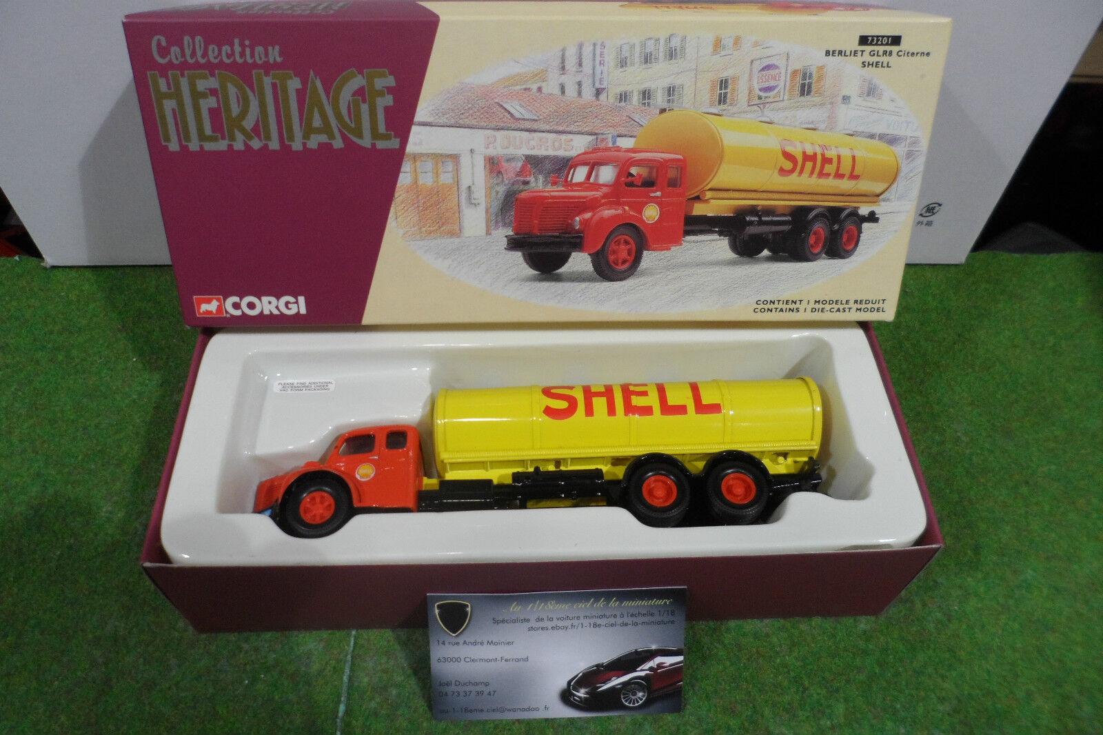 primera vez respuesta CAMION    CITERNE BERLIET GLR8 SHELL jne rge 1 50 CORGI 73201 miniature collection  Las ventas en línea ahorran un 70%.
